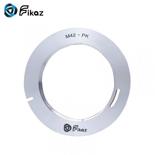 FIKAZ , adaptor de la obiective montura M42 la body montura Pentax PK 0