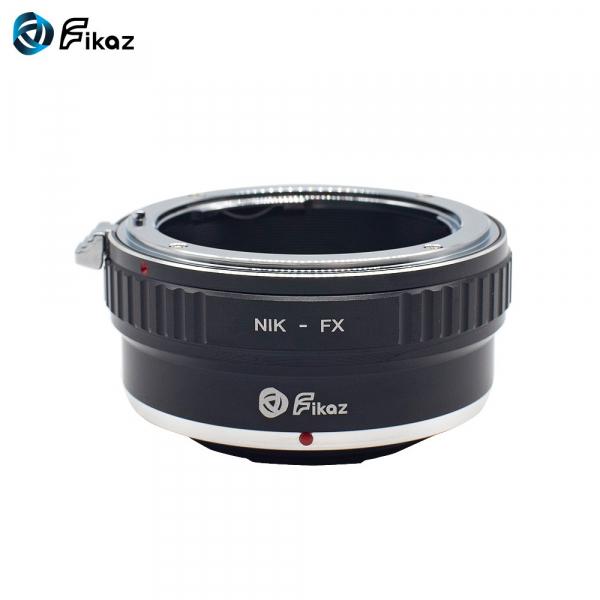 FIKAZ ,  adaptor de la obiective montura Nikon F la body montura Fujifilm X 1