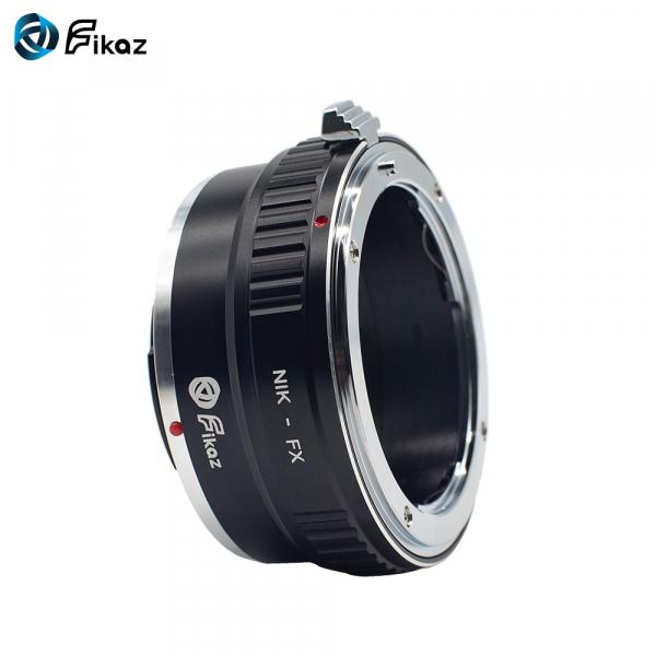 FIKAZ ,  adaptor de la obiective montura Nikon F la body montura Fujifilm X 6