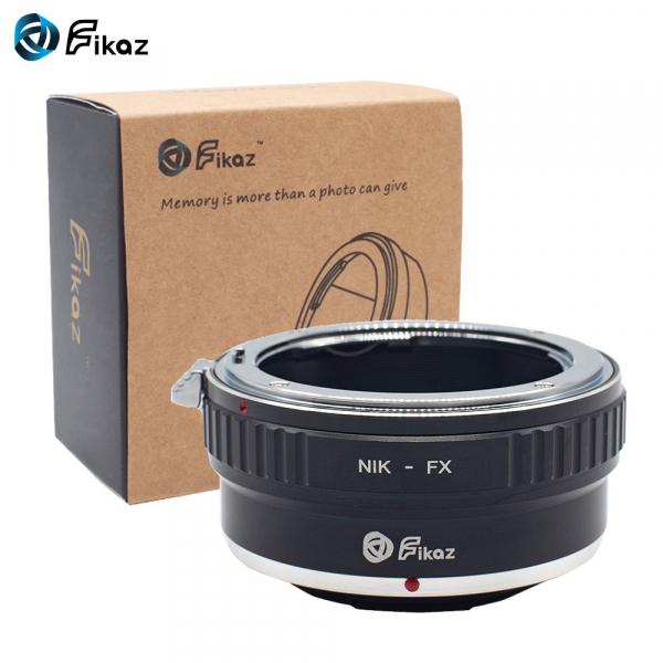 FIKAZ ,  adaptor de la obiective montura Nikon F la body montura Fujifilm X 0
