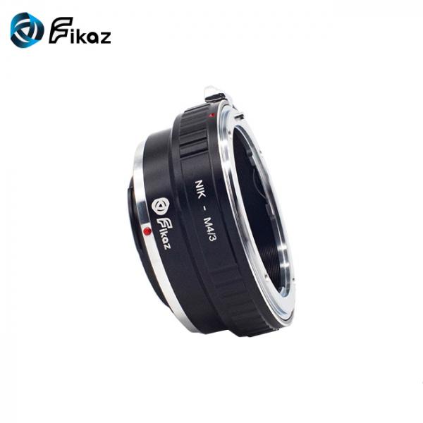 FIKAZ , adaptor de la obiective montura Nikon F la body montura Olympus / Panasonic Micro 4/3 (MFT) 2