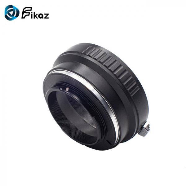 FIKAZ , adaptor de la obiective montura Nikon F la body montura Olympus / Panasonic Micro 4/3 (MFT) [4]