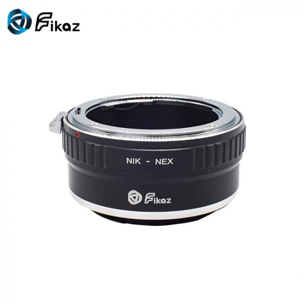 FIKAZ , adaptor de la obiective montura Nikon F la body montura Sony E (NEX) 1