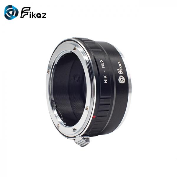 FIKAZ , adaptor de la obiective montura Nikon F la body montura Sony E (NEX) 3