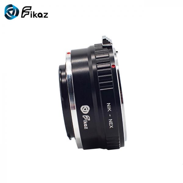 FIKAZ , adaptor de la obiective montura Nikon F la body montura Sony E (NEX) 6