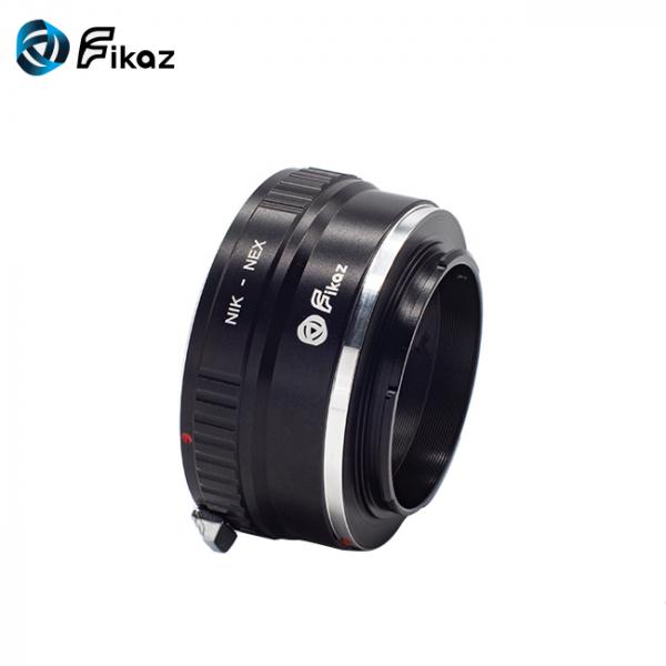 FIKAZ , adaptor de la obiective montura Nikon F la body montura Sony E (NEX) 2