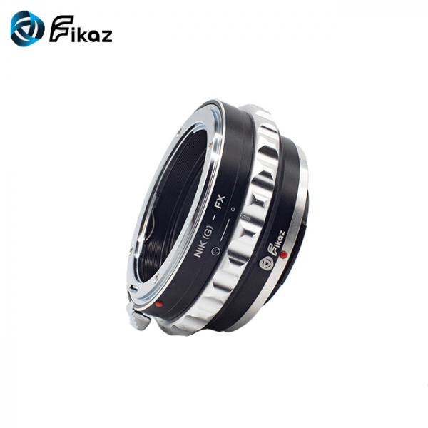 FIKAZ , adaptor de la obiective montura Nikon G la body montura Fujifilm X 7