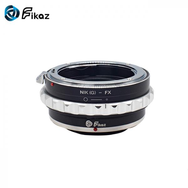 FIKAZ , adaptor de la obiective montura Nikon G la body montura Fujifilm X 1