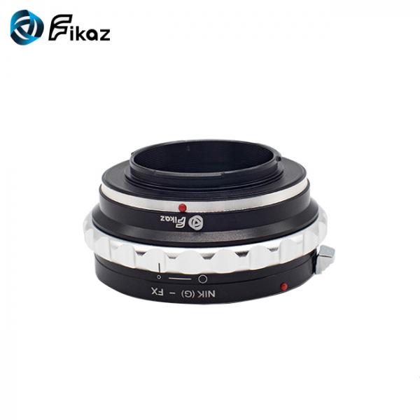 FIKAZ , adaptor de la obiective montura Nikon G la body montura Fujifilm X 6
