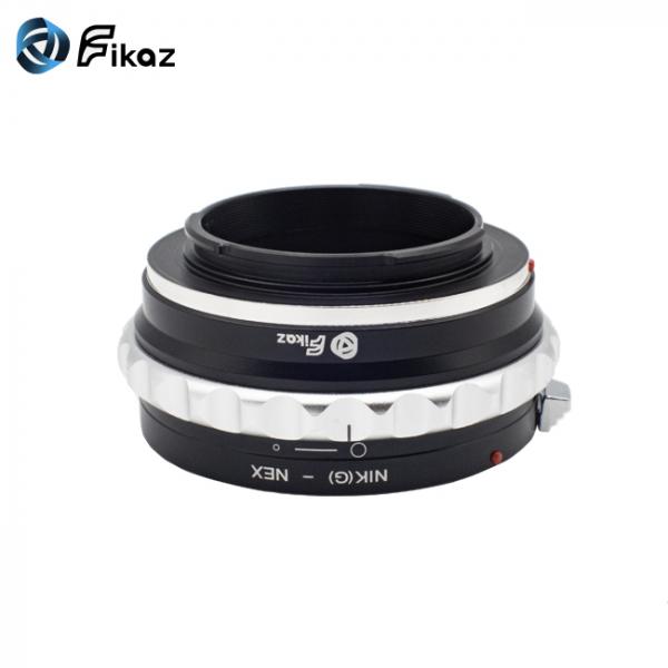 FIKAZ , adaptor de la obiective montura Nikon G la body montura Sony E ( NEX) 6