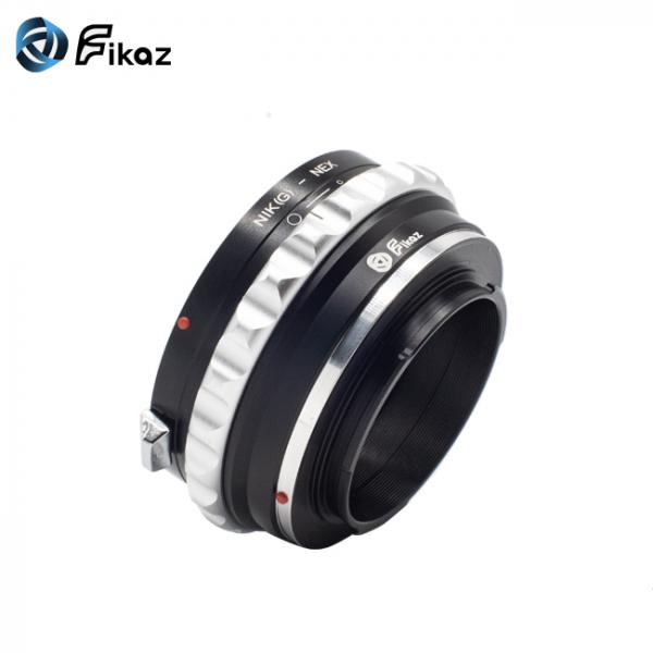 FIKAZ , adaptor de la obiective montura Nikon G la body montura Sony E ( NEX) 3