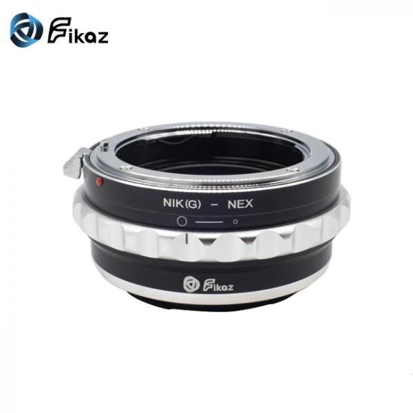 FIKAZ , adaptor de la obiective montura Nikon G la body montura Sony E ( NEX) 1
