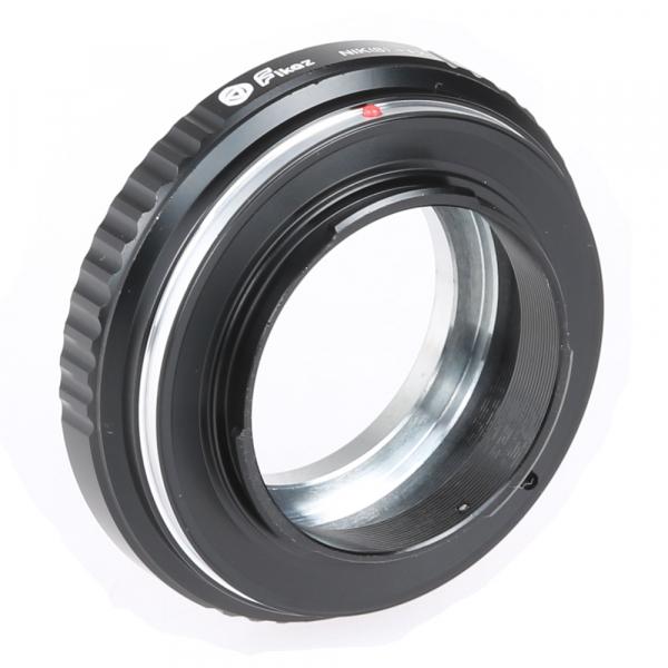 FIKAZ , adaptor de la obiective montura Nikon S / Contax Rangefinder la body montura Fujifilm X 2
