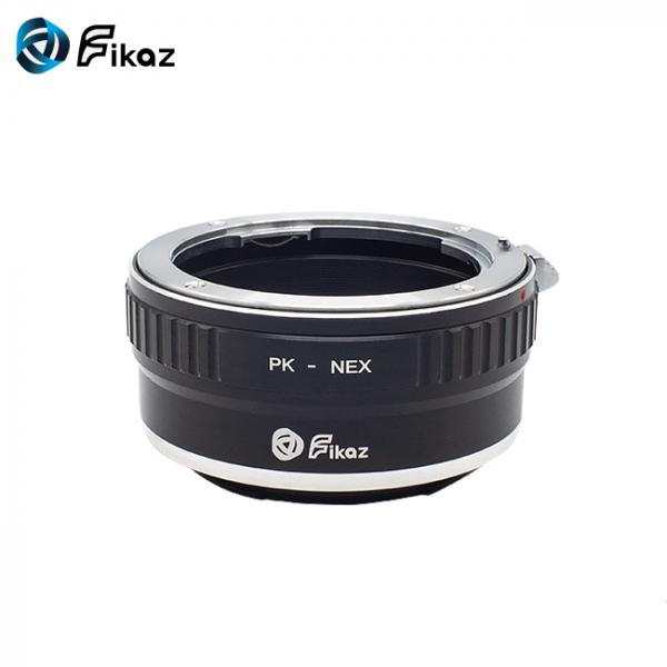 FIKAZ , adaptor de la obiective montura Pentax K la body montura Sony E ( NEX) 1