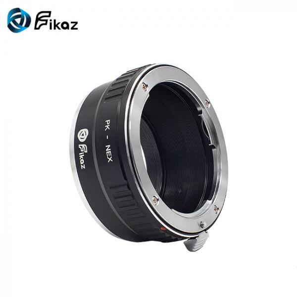FIKAZ , adaptor de la obiective montura Pentax K la body montura Sony E ( NEX) 2