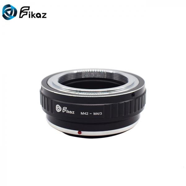 FIKAZ , adaptor din Cupru de la obiective montura M42 la body montura Olympus / Panasonic Micro 4/3 (MFT) [1]