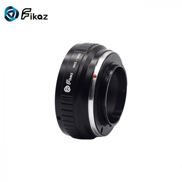 FIKAZ , adaptor din Cupru de la obiective montura M42 la body montura Olympus / Panasonic Micro 4/3 (MFT) [3]