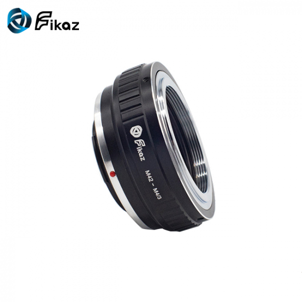 FIKAZ , adaptor din Cupru de la obiective montura M42 la body montura Olympus / Panasonic Micro 4/3 (MFT) [4]