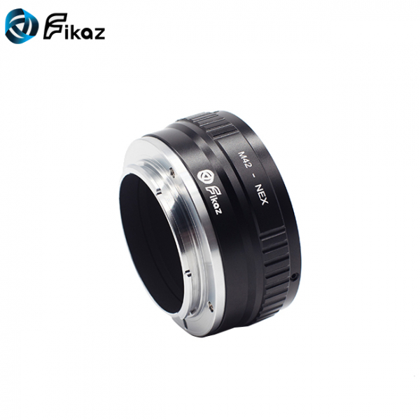 FIKAZ , adaptor din Cupru de la obiective montura M42 la body montura Sony E (NEX ) 5