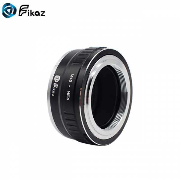 FIKAZ , adaptor din Cupru de la obiective montura M42 la body montura Sony E (NEX ) 4