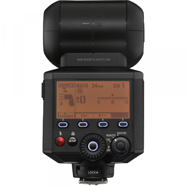 Fujifilm EF-X500 - blitz pentru Fujifilm X 8