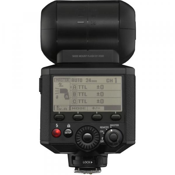Fujifilm EF-X500 - blitz pentru Fujifilm X 6