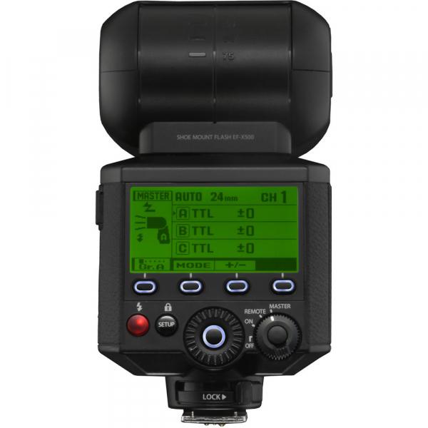 Fujifilm EF-X500 - blitz pentru Fujifilm X 7