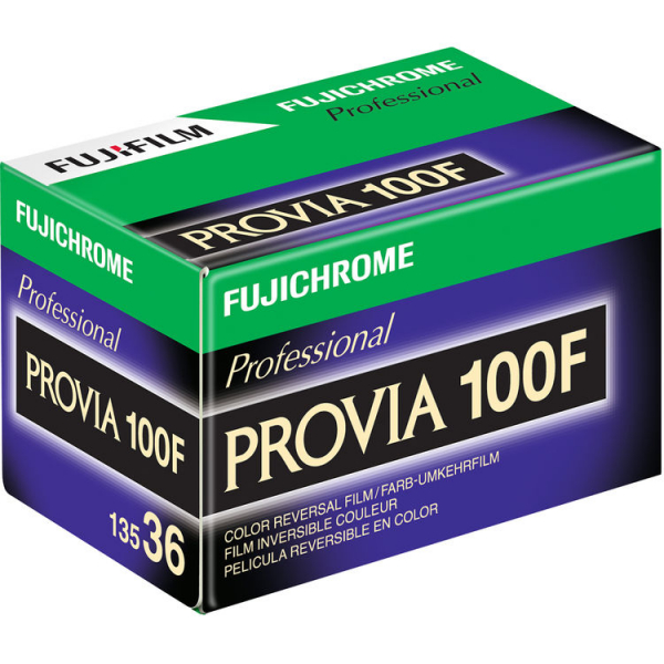 Fujifilm Fujichrome Professional PROVIA 100F/135 - film diapozitiv ingust ISO100 , 135mm , 36 pozitii 0