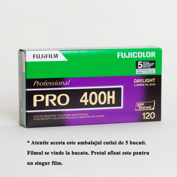 Fujifilm Fujicolor PRO 400H - film negativ color lat ISO 400, 120mm 2