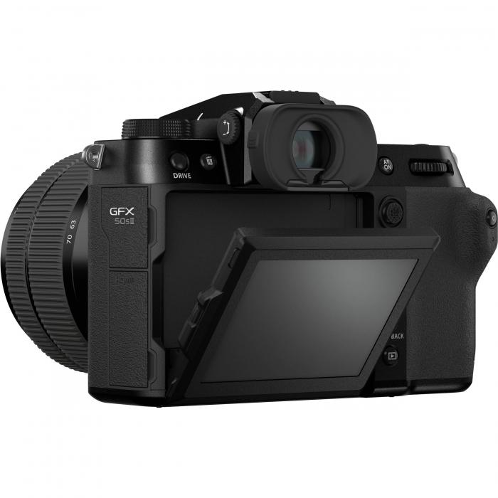 FUJIFILM GFX 50S II - Cameră Foto Mirrorless (body) - Aparat 51.4MP Format Mediu, Full HD [8]