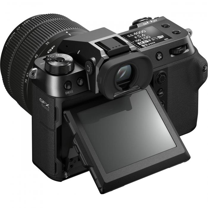 FUJIFILM GFX 50S II - Cameră Foto Mirrorless (body) - Aparat 51.4MP Format Mediu, Full HD [7]