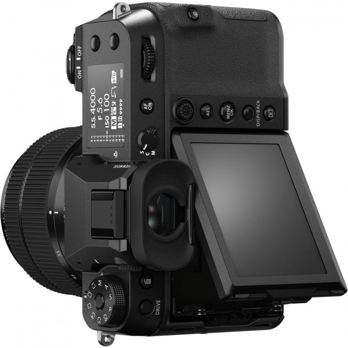 FUJIFILM GFX 50S II - Cameră Foto Mirrorless (body) - Aparat 51.4MP Format Mediu, Full HD [9]