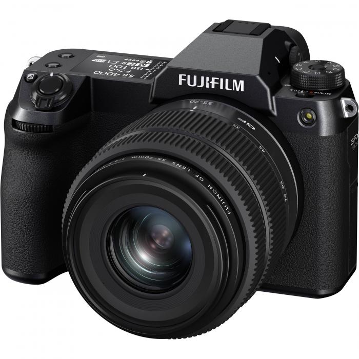 FUJIFILM GFX 50S II - Cameră Foto Mirrorless (body) - Aparat 51.4MP Format Mediu, Full HD [6]