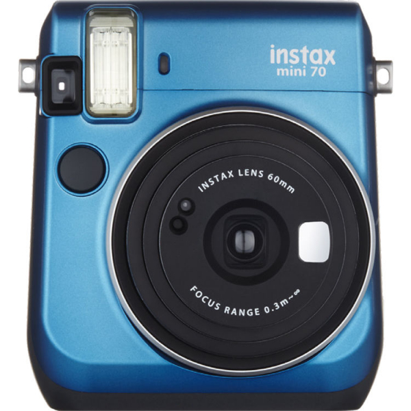 Fujifilm Instax Mini 70 - Aparat Foto Instant albastru (Island Blue) 0