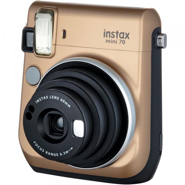 Fujifilm Instax Mini 70 - Aparat Foto Instant auriu (Stardust Gold) 2
