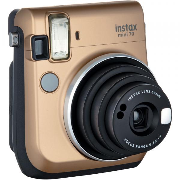 Fujifilm Instax Mini 70 - Aparat Foto Instant auriu (Stardust Gold) 1