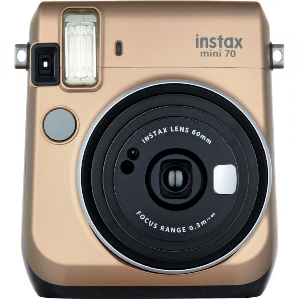 Fujifilm Instax Mini 70 - Aparat Foto Instant auriu (Stardust Gold) 0