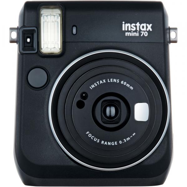 Fujifilm Instax Mini 70 - Aparat Foto Instant negru (Midnight Black) [0]