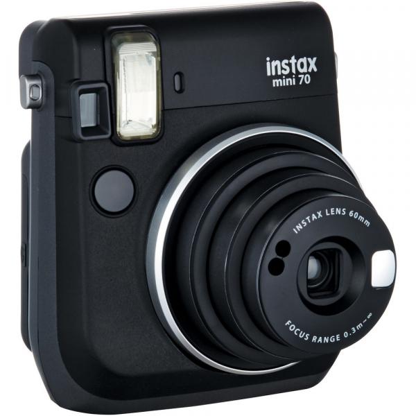 Fujifilm Instax Mini 70 - Aparat Foto Instant negru (Midnight Black) [1]