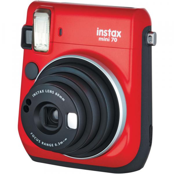 Fujifilm Instax Mini 70 - Aparat Foto Instant rosu (Passion Red) 2