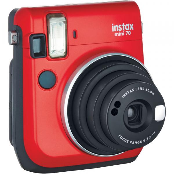 Fujifilm Instax Mini 70 - Aparat Foto Instant rosu (Passion Red) 1