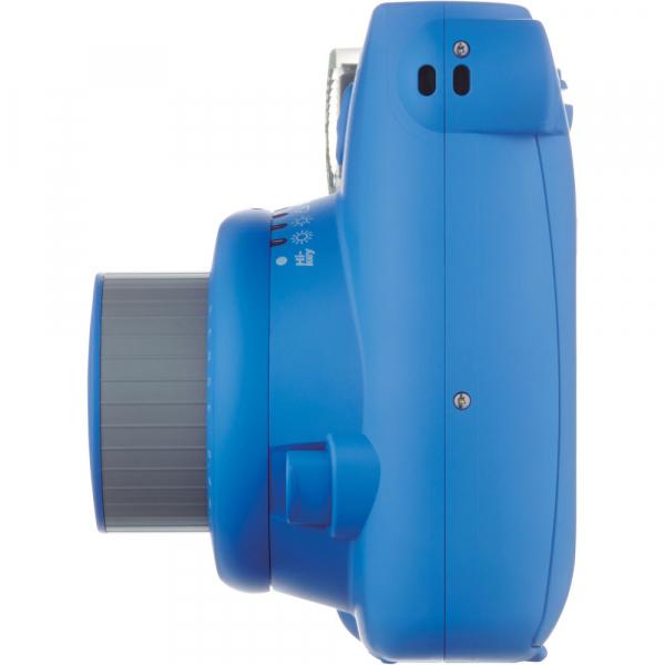 Fujifilm Instax Mini 9 - Aparat Foto Instant Albastru (Cobalt Blue) + Husa + Film 10 buc 6