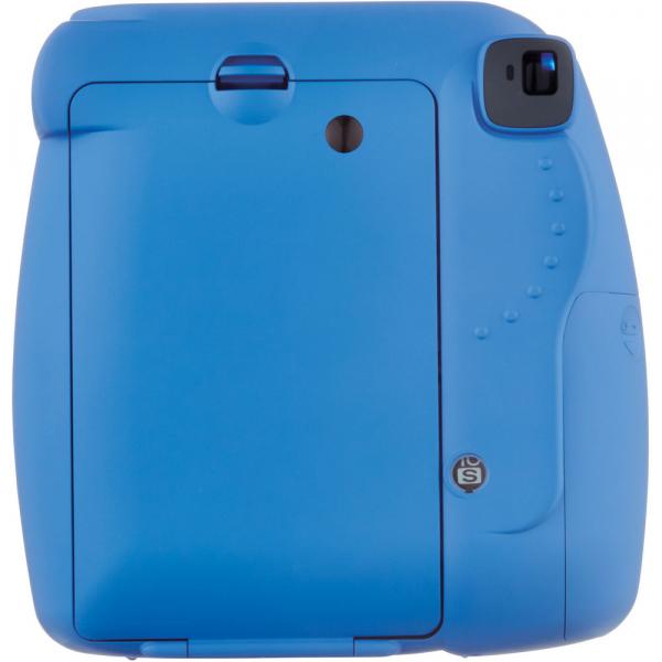Fujifilm Instax Mini 9 - Aparat Foto Instant Albastru (Cobalt Blue) + Husa + Film 10 buc 4