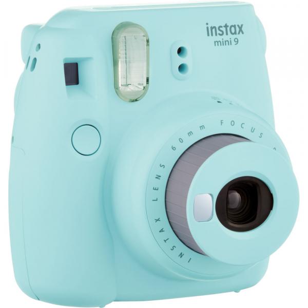Fujifilm Instax Mini 9 - Aparat Foto Instant Albastru glaciar (Ice Blue) [2]