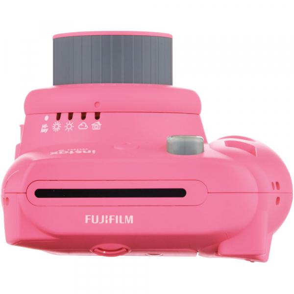 Fujifilm Instax Mini 9 - Aparat Foto Instant Roz (Flamingo Pink) 4