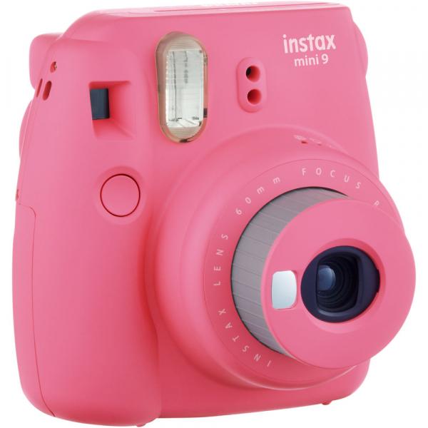 Fujifilm Instax Mini 9 - Aparat Foto Instant Roz (Flamingo Pink) 2