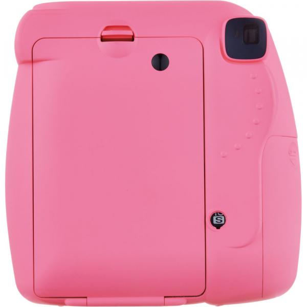 Fujifilm Instax Mini 9 - Aparat Foto Instant Roz (Flamingo Pink) 3