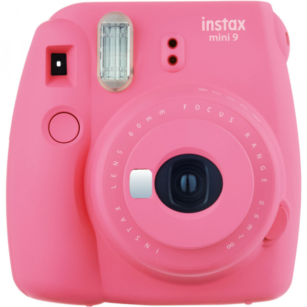 Fujifilm Instax Mini 9 - Aparat Foto Instant Roz (Flamingo Pink) 0