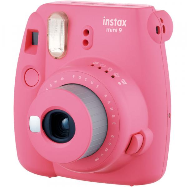 Fujifilm Instax Mini 9 - Aparat Foto Instant Roz (Flamingo Pink) 1