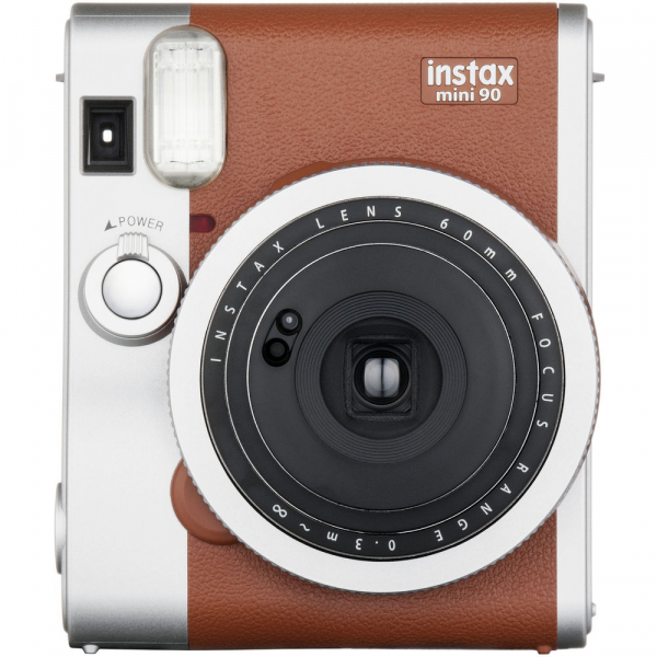 Fujifilm Instax Mini 90 Neo Classic - Aparat Foto Instant maro (Brown) 0